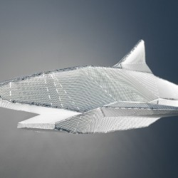 Francis Chabloz : suspension Shark