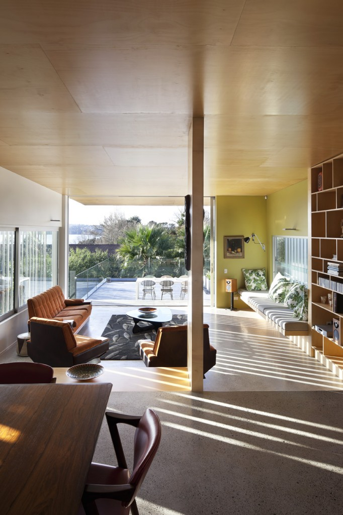 Pete Bossley Architects Brown Vujcich House Flodeau