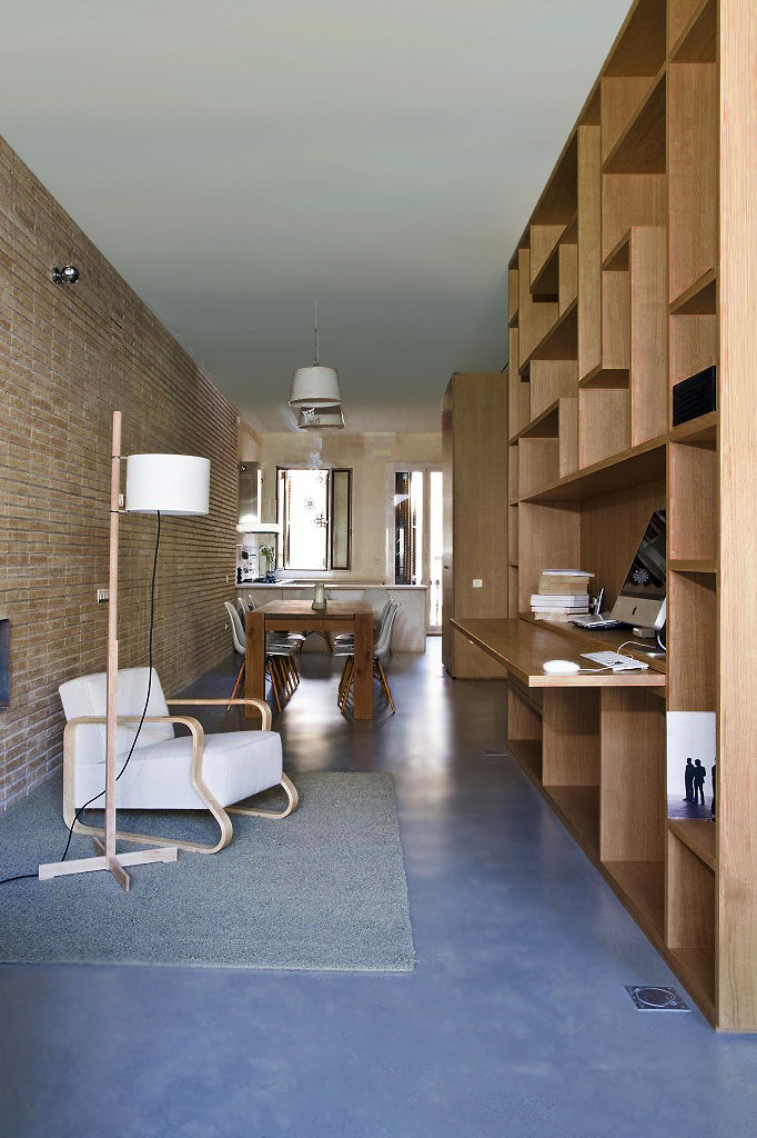 Ylab arquitectos loft poble nou flodeau for 100m2 apartment design
