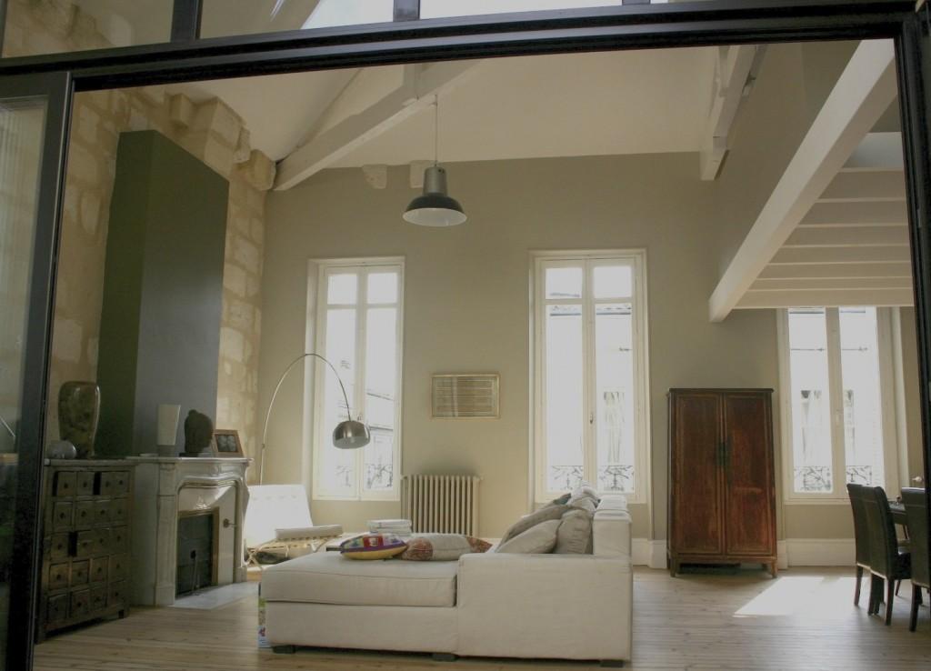 Maison la maison de karine et antoine aux chartrons - Decoration maison bourgeoise ...