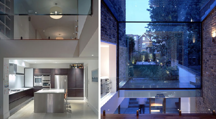 Giles pike architects glass additions flodeau for Glass house additions