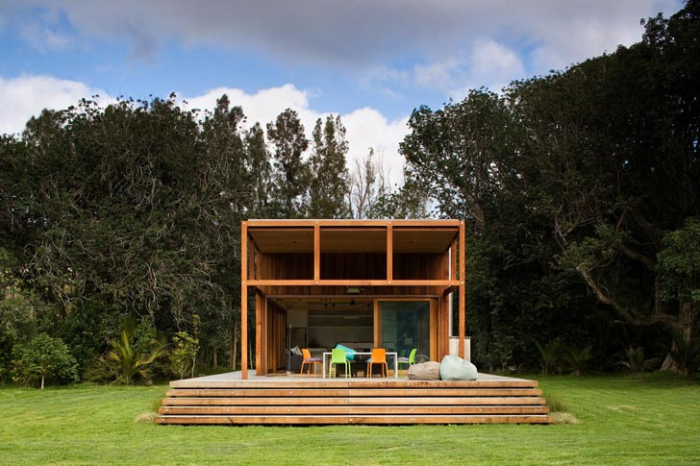 Crosson Clarke Carnachan Architects : Great Barrier House ...