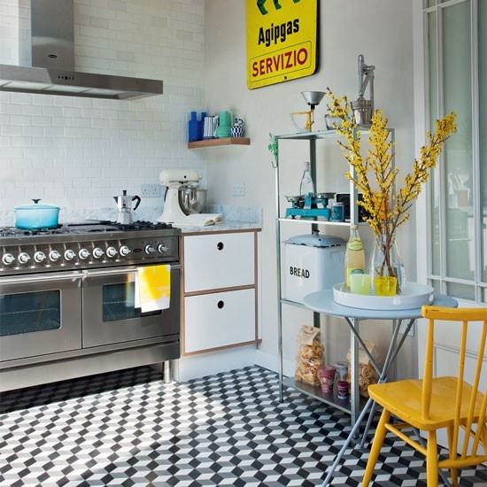 47 Incredibly Inspiring Industrial Style Kitchens: Quick Dose Of Inspiration #17 : Tiles, Tiles, Tiles