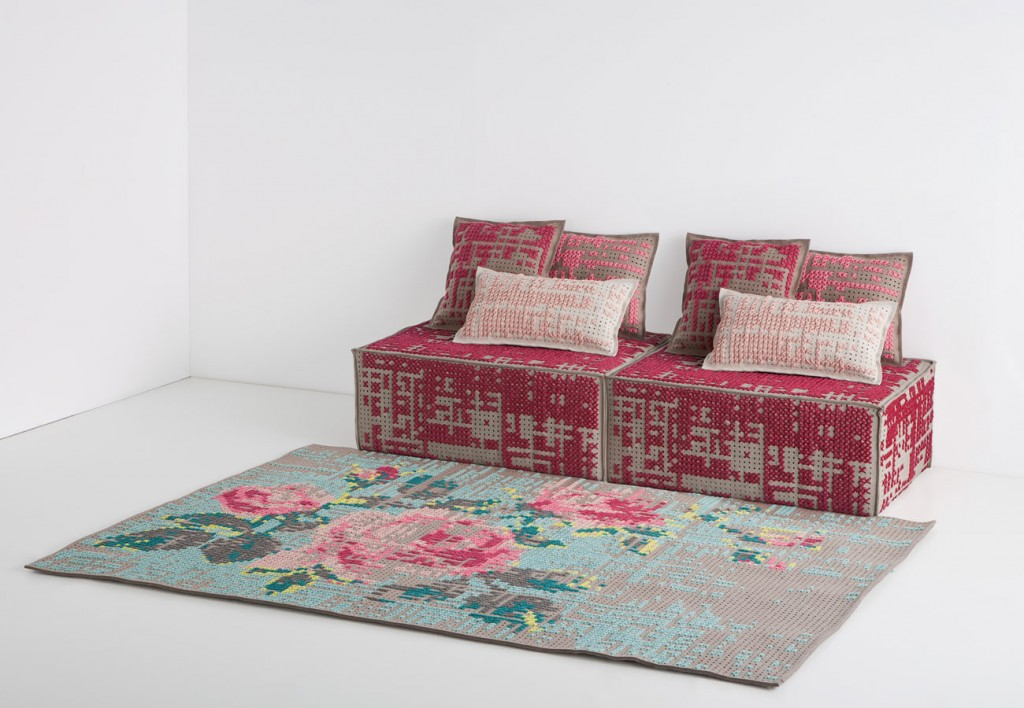 Gan Rugs charlotte lancelot for gan rugs : canevas collection – flodeau
