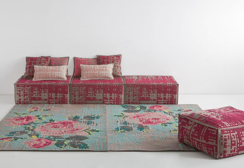 charlotte lancelot for gan rugs canevas collection flodeau. Black Bedroom Furniture Sets. Home Design Ideas