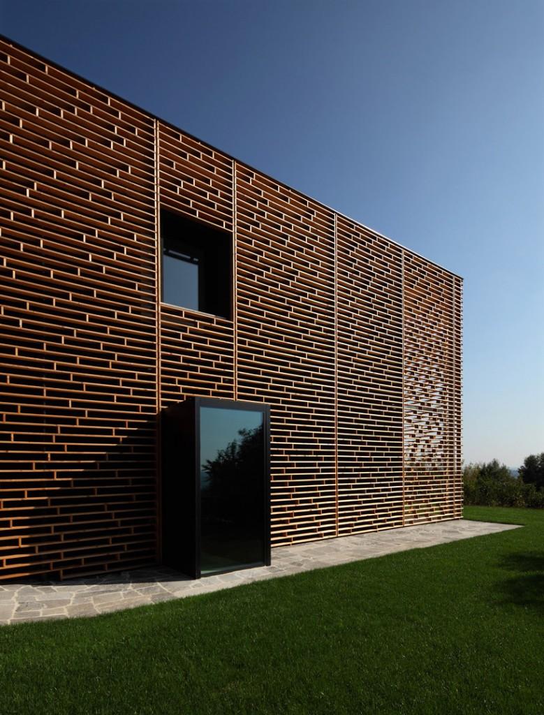 Marco castelletti casa a morchiuso flodeau for Architecture wood