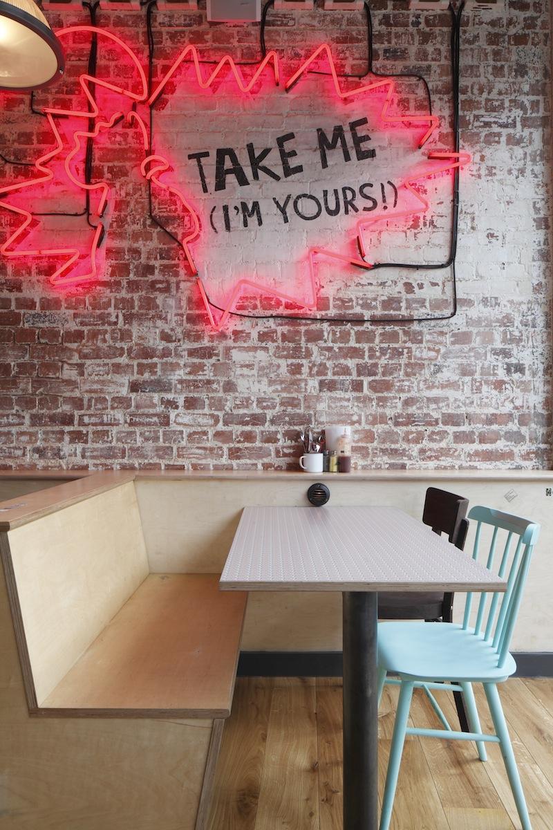 Central Design Studio Chooks restaurant Flodeau
