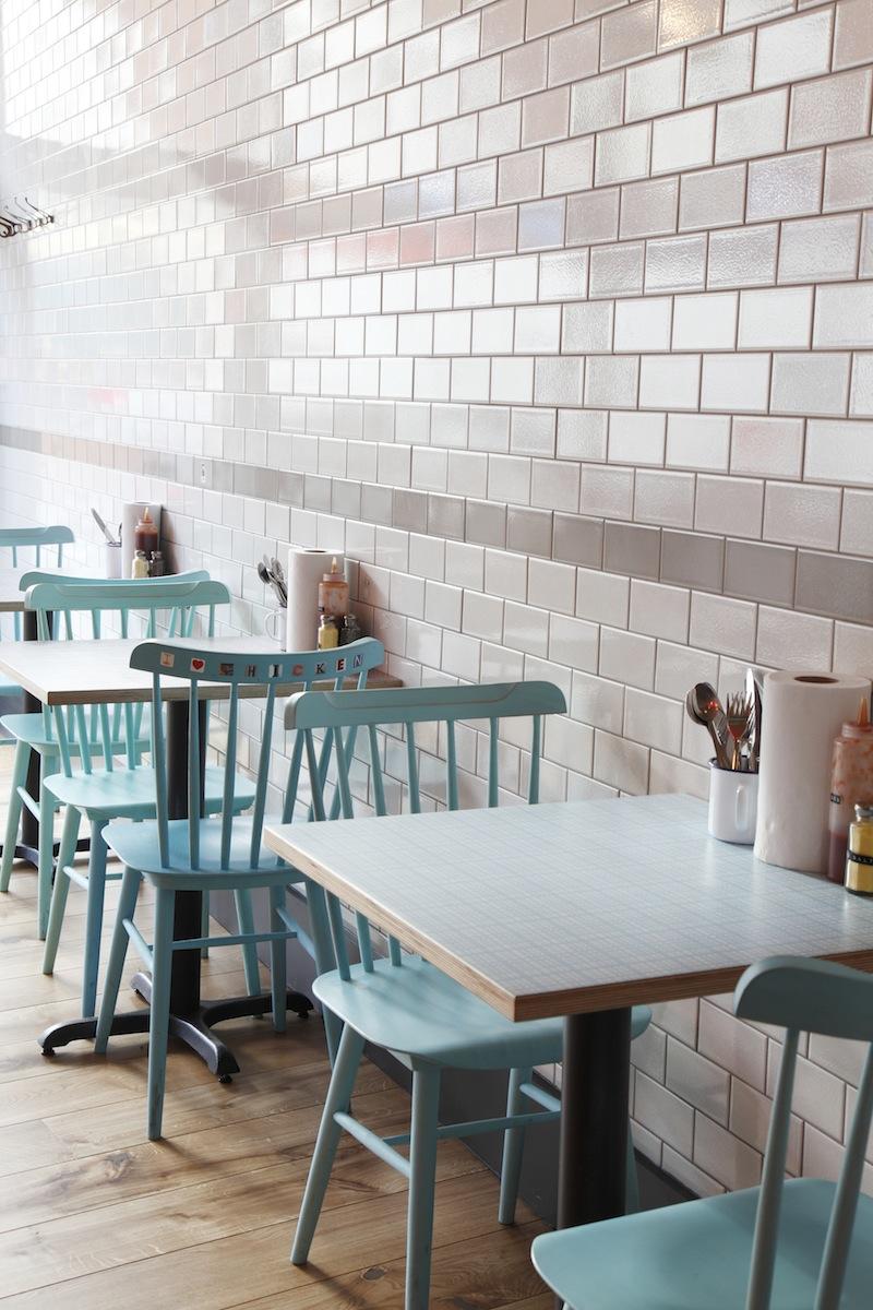 Central design studio chooks restaurant flodeau for Interior designers central london