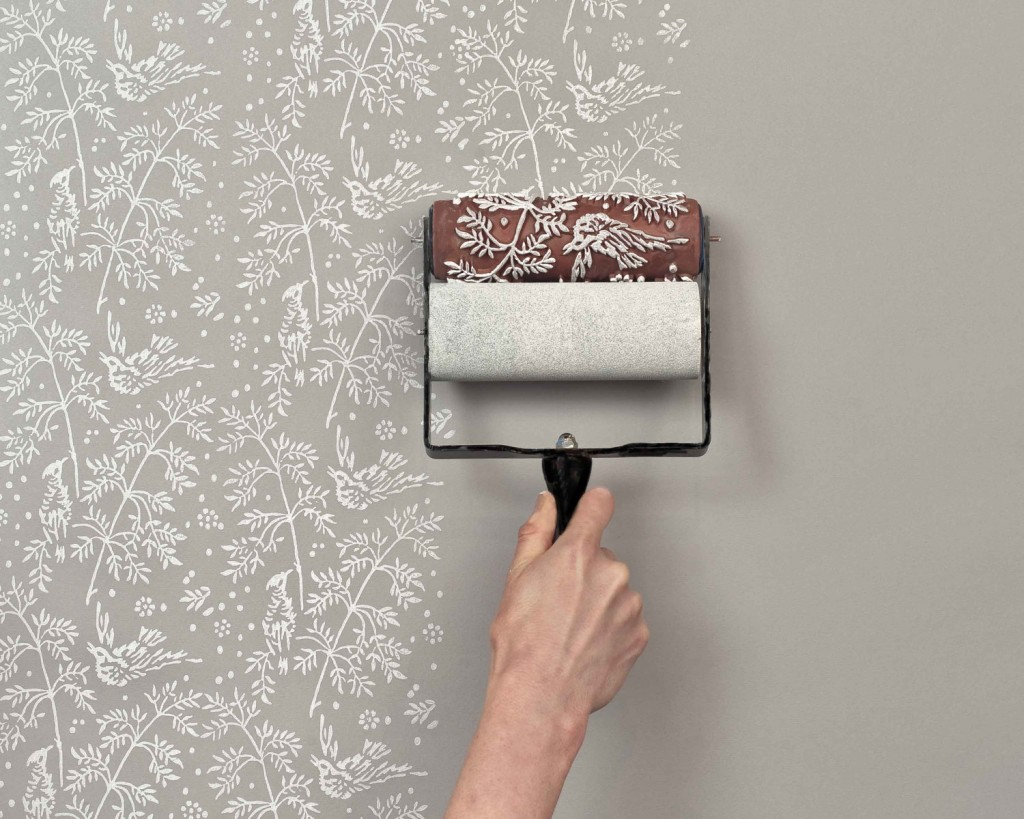 Paint House the painted house : patterned paint rollers – flodeau