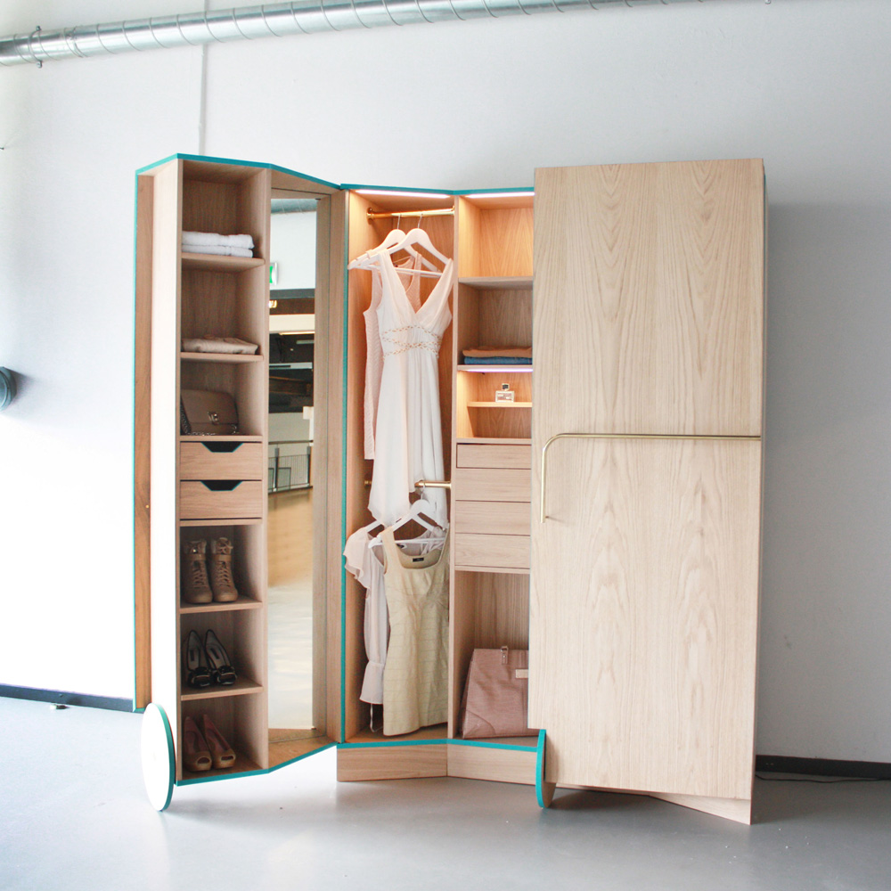 Hosun ching walk in closet flodeau for Studio closet design