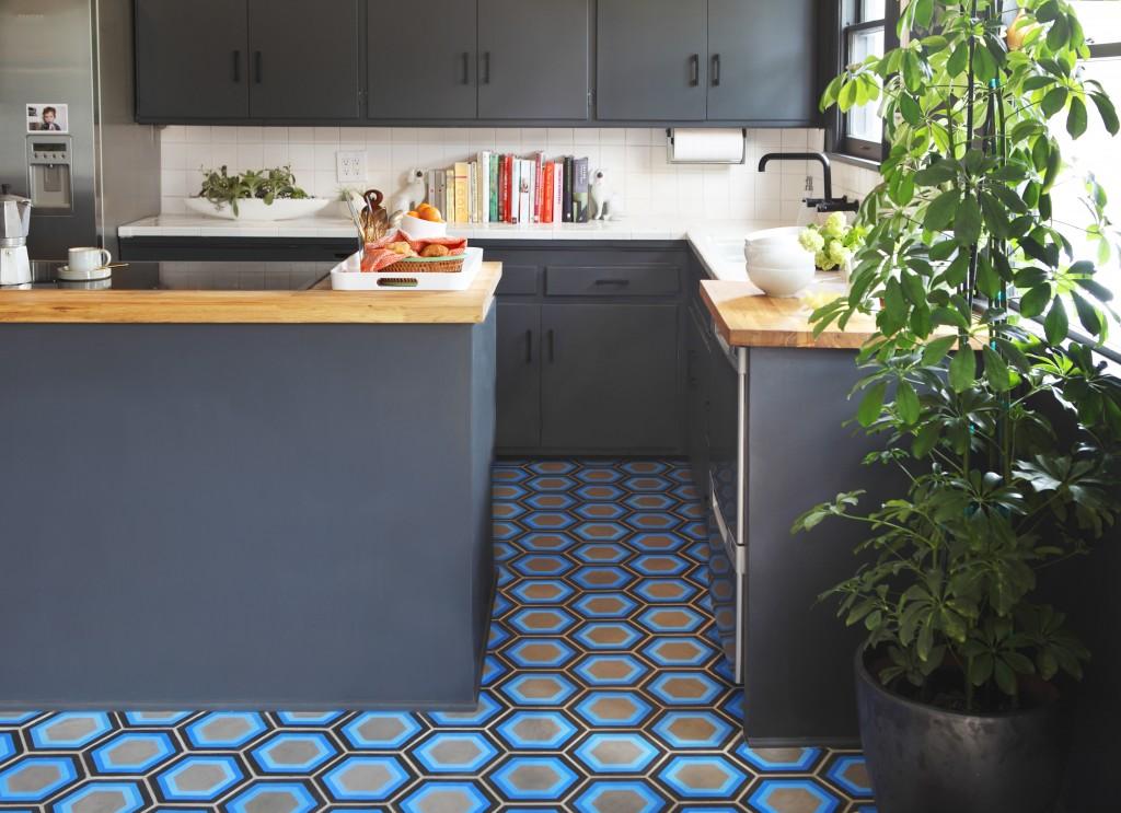 Tracey reinberg kismet tile flodeau for Cement tiles for kitchen
