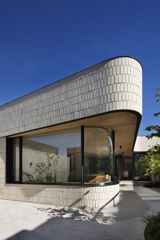 Clare Cousins Architects Brick House Flodeau