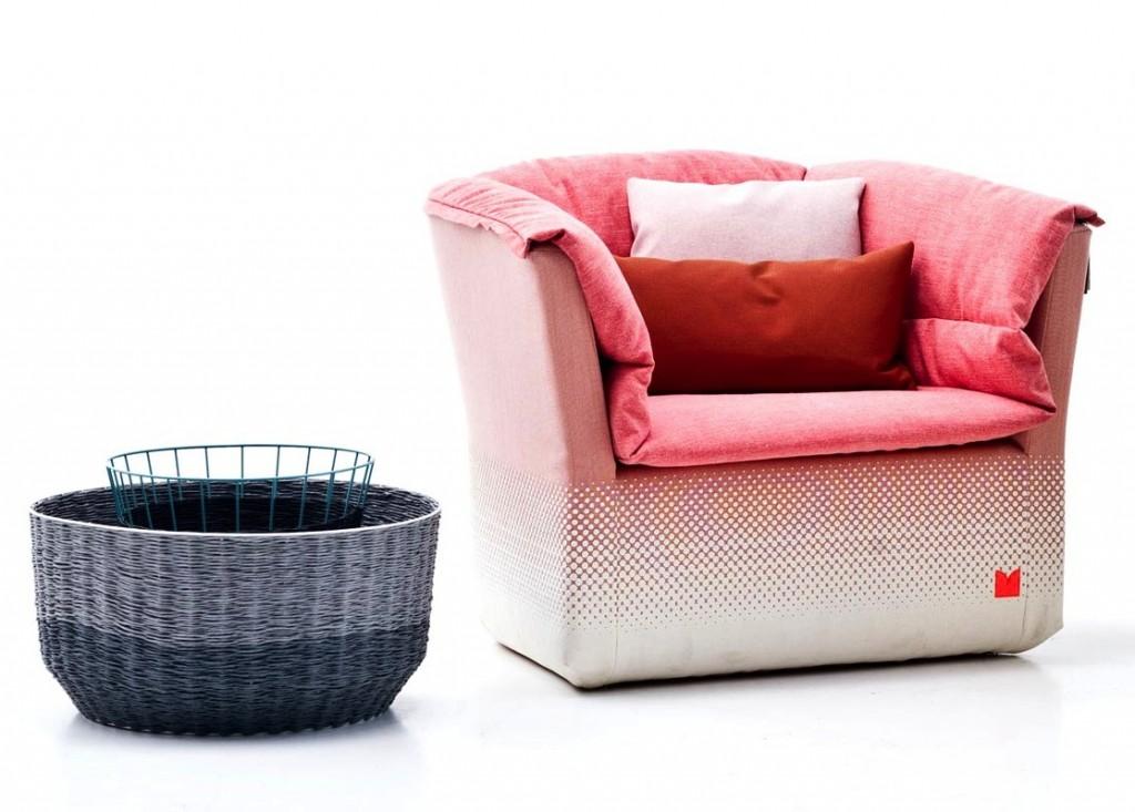 sebastian herkner for moroso coat series flodeau. Black Bedroom Furniture Sets. Home Design Ideas