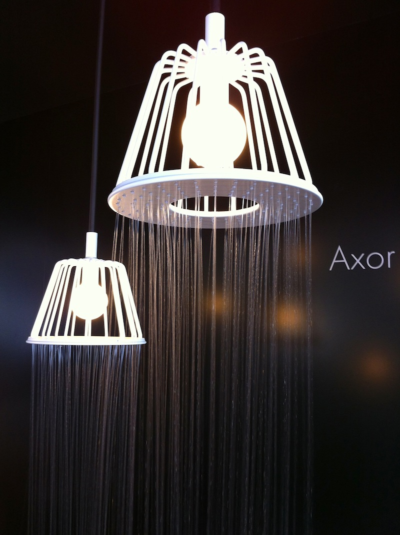 "Hansgrohe : New Axor ""WaterDream"" Installation with Nendo – Flodeau"