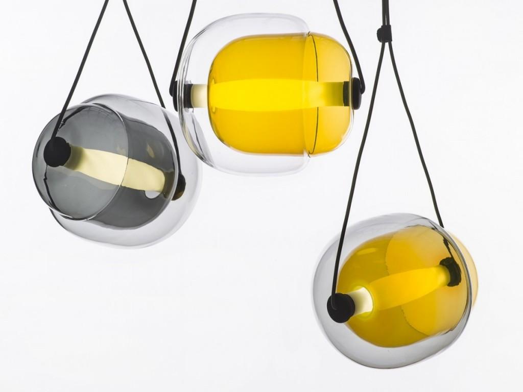 Capsula Pendant Light by Lucie Koldova for Brokis - featured on flodeau.com - 01