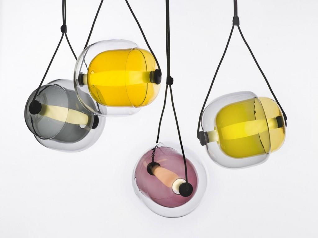 Capsula Pendant Light by Lucie Koldova for Brokis - featured on flodeau.com - 02