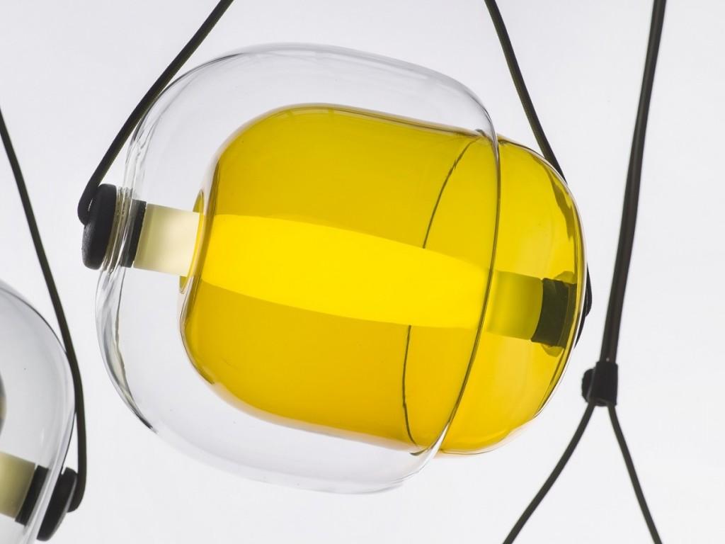 Capsula Pendant Light by Lucie Koldova for Brokis - featured on flodeau.com - 03