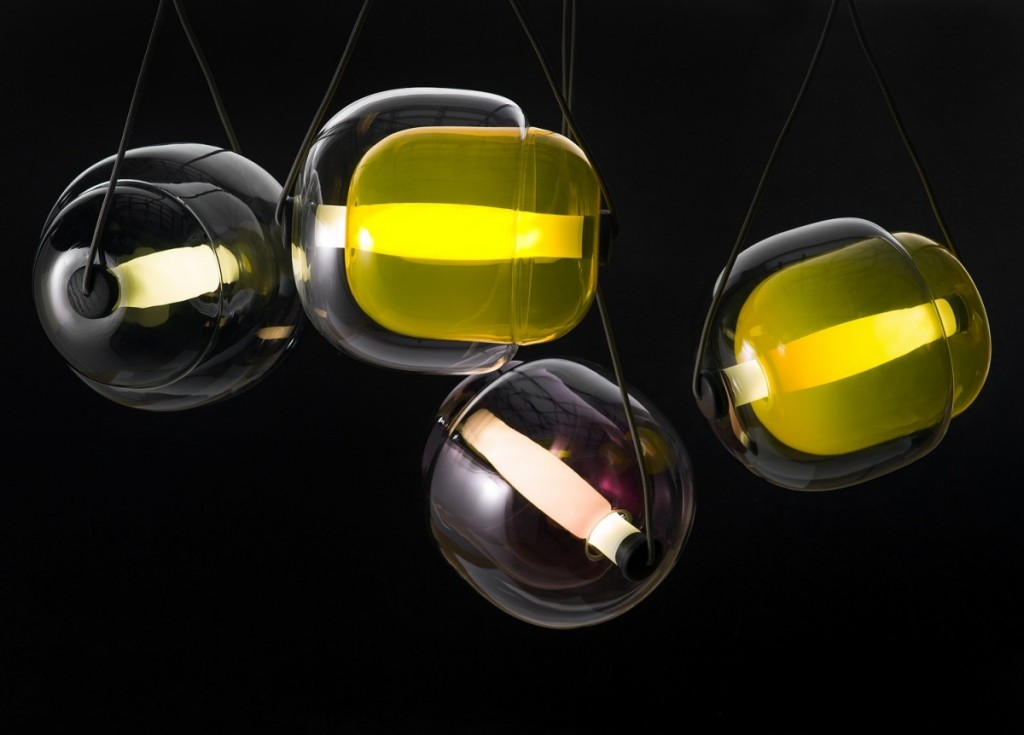 Capsula Pendant Light by Lucie Koldova for Brokis - featured on flodeau.com - 04