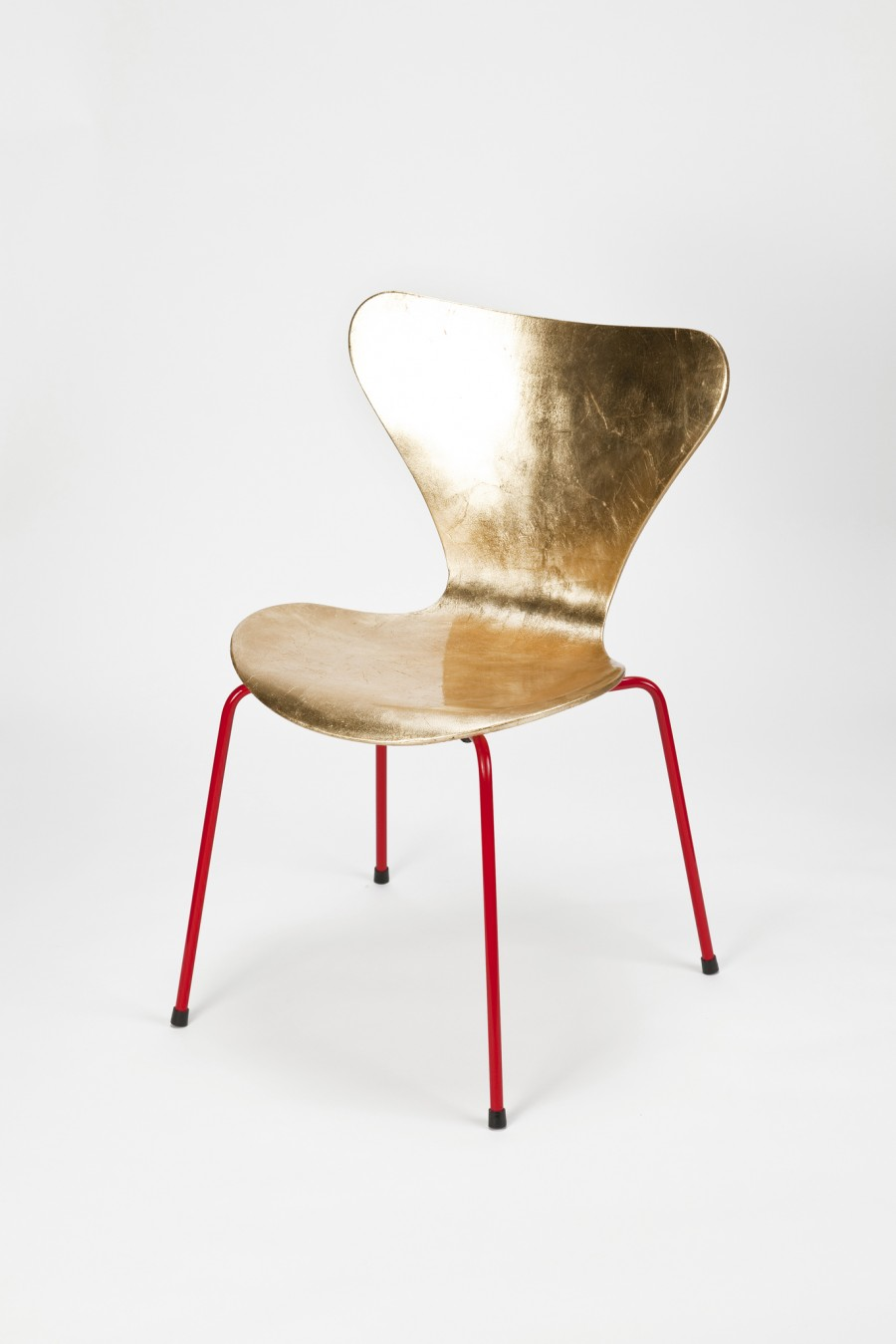 Eames and Jacobsen Go Goldy Gold by Reha Okay - on flodeau.com 01