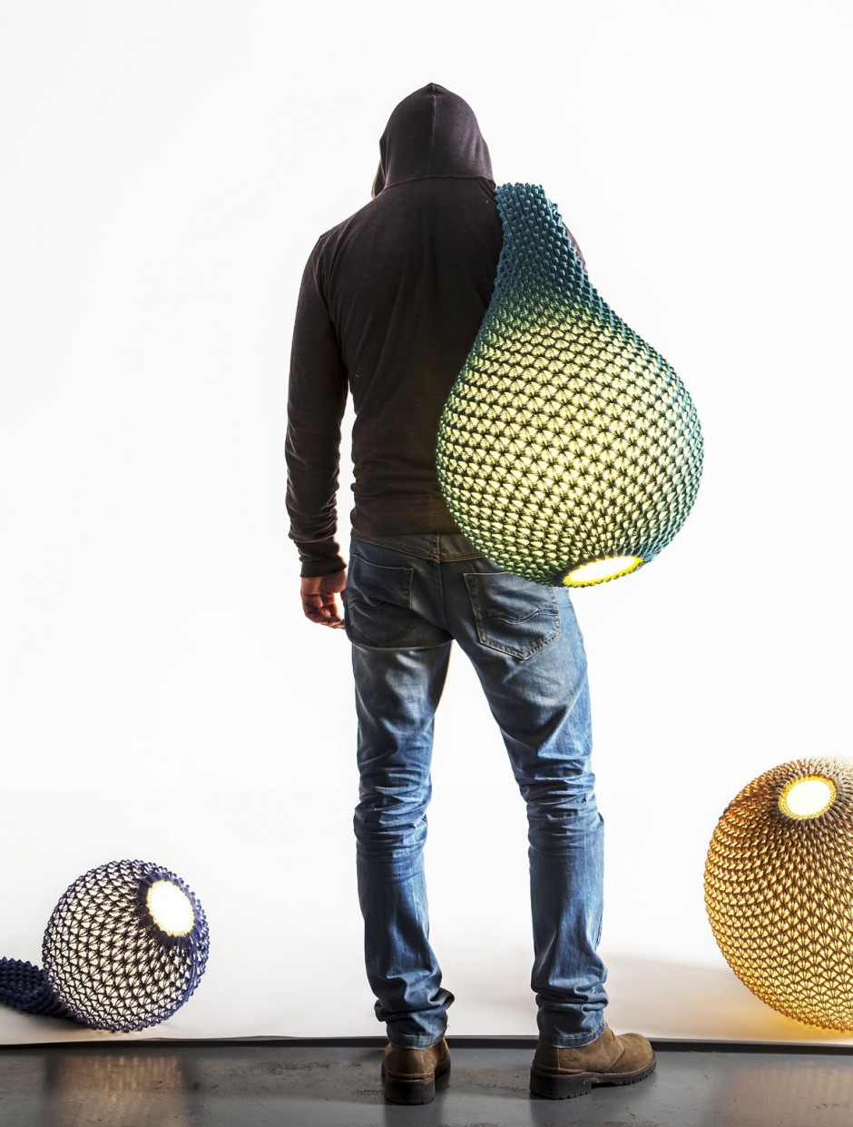 Knitted by Ariel Zuckerman and Oded Sapir