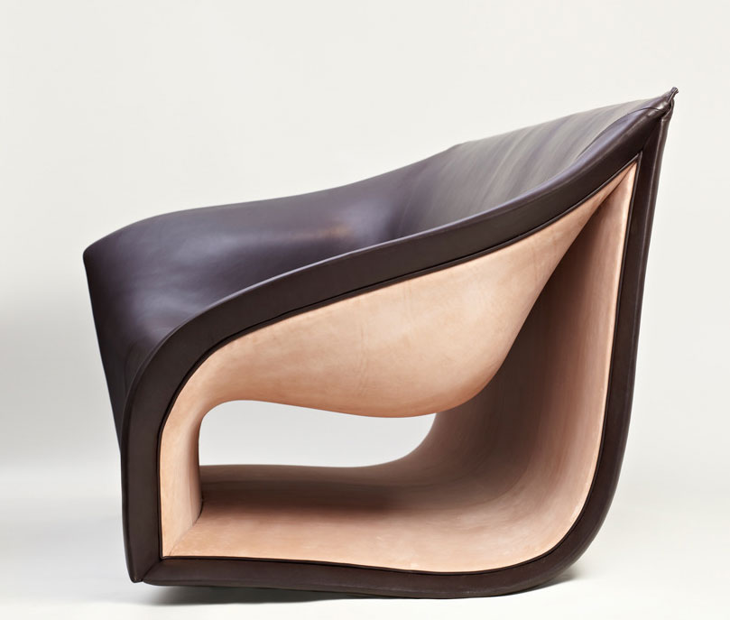 Split Sofa and Chair by Alex Hull
