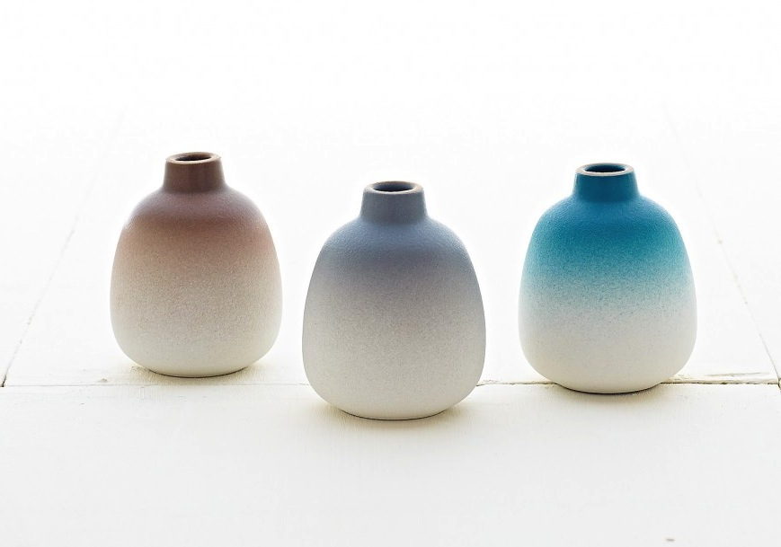 Bud-Vase-Set-Seasonal-Collection-by-Heath-Ceramics - flodeau.com