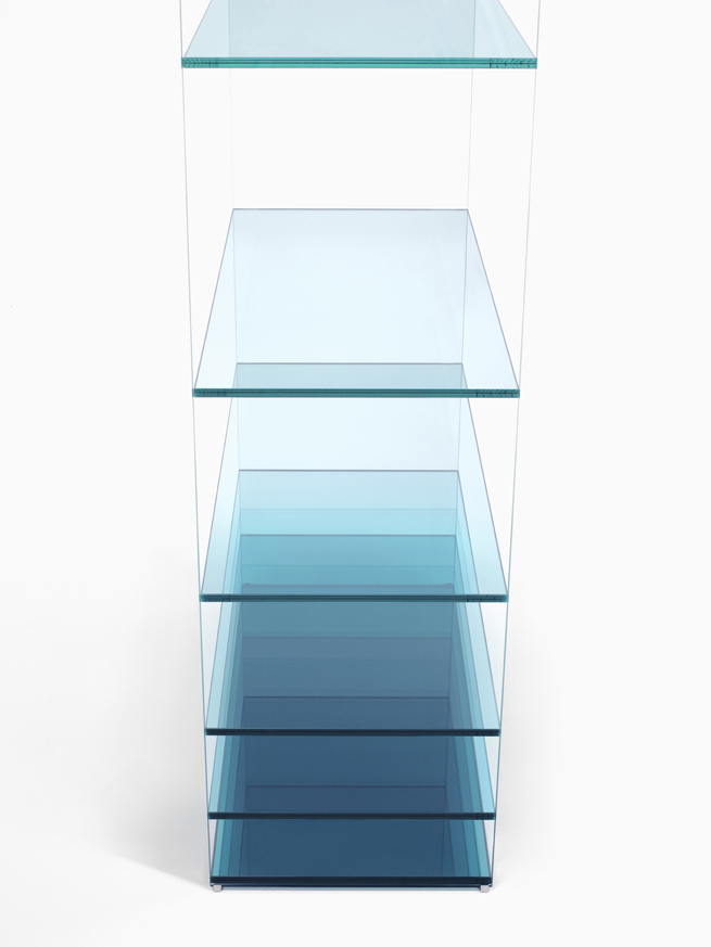 Deep-sea shelf by nendo for Glas Italia
