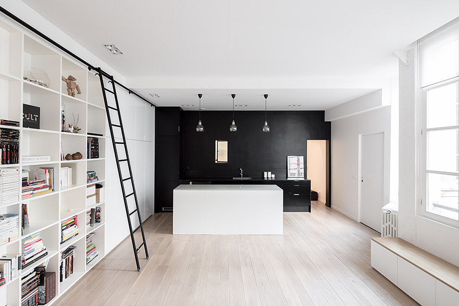 Kabinett house in Paris designed by septembre