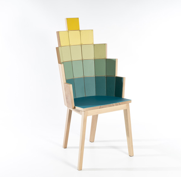Loaves-Fishes chair by Alessandro Zambelli