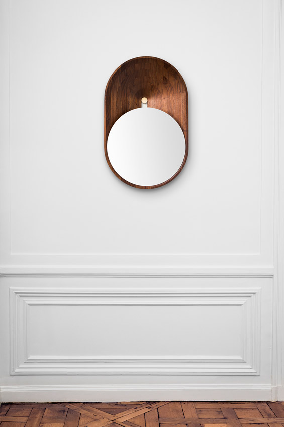 Mono mirror by Gregoire de Lafforest