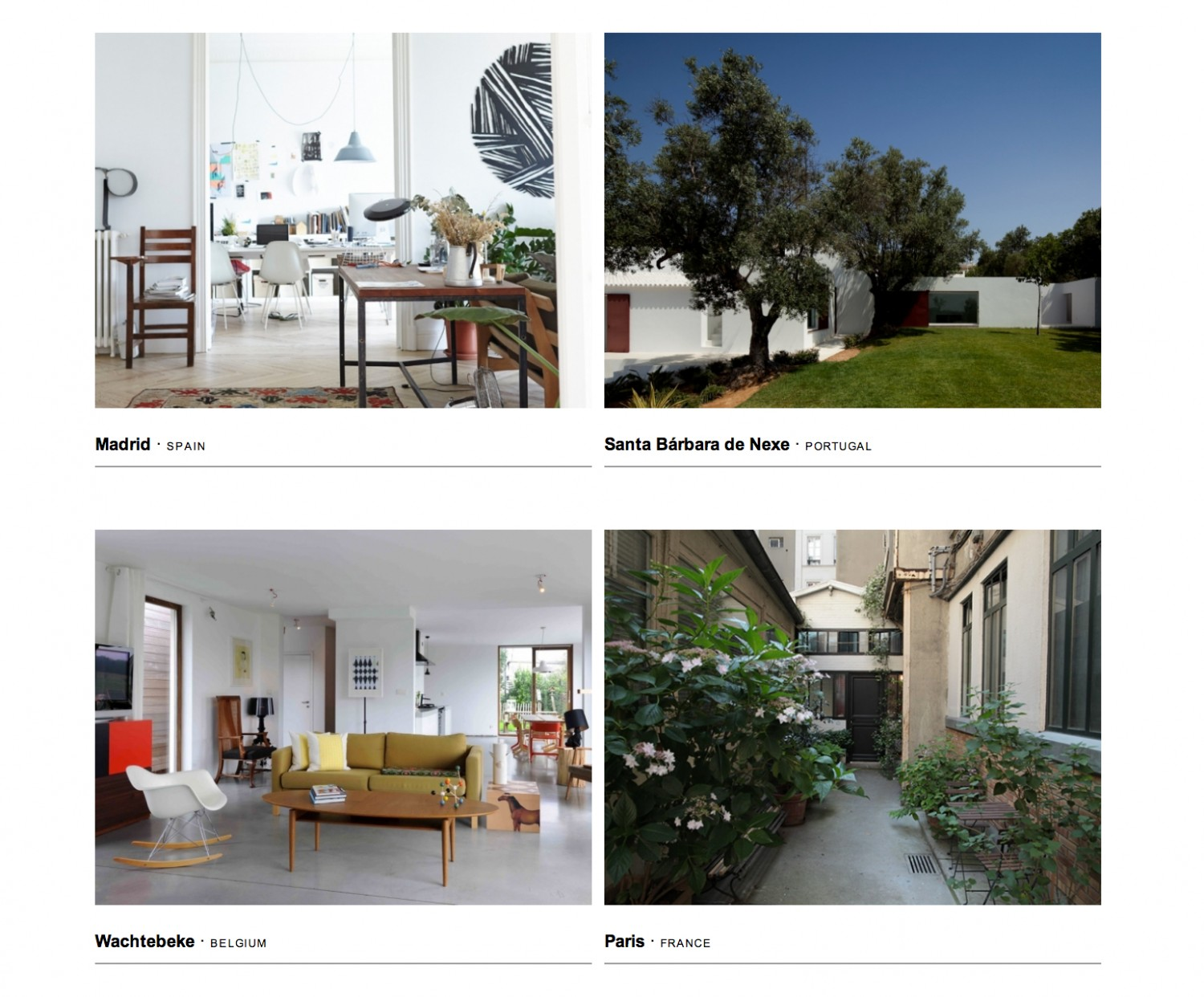 Behomm - Home Exchange Website for Designers and Visual Artists - flodeau.com 06