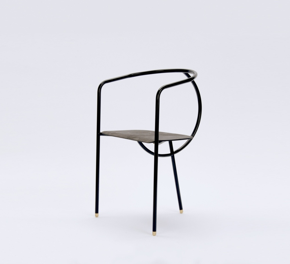 Chair form the Flux Collection by Danish designer Tine Daring