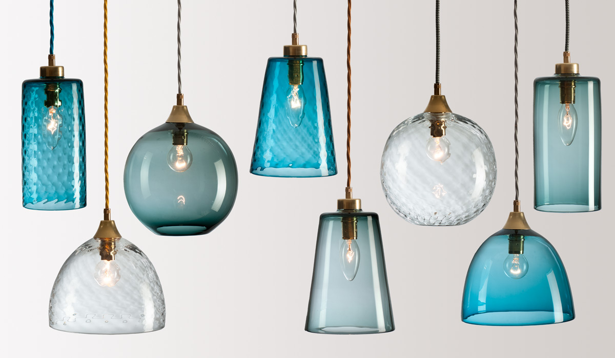 Rothschild Bickers Handblown Glass Lighting Flodeau