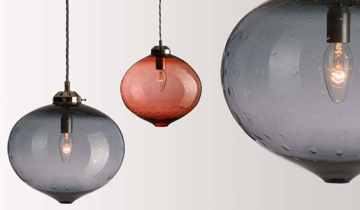 FLODEAU.COM - Handblown Glass Lighting by Rothschild Bickers 07