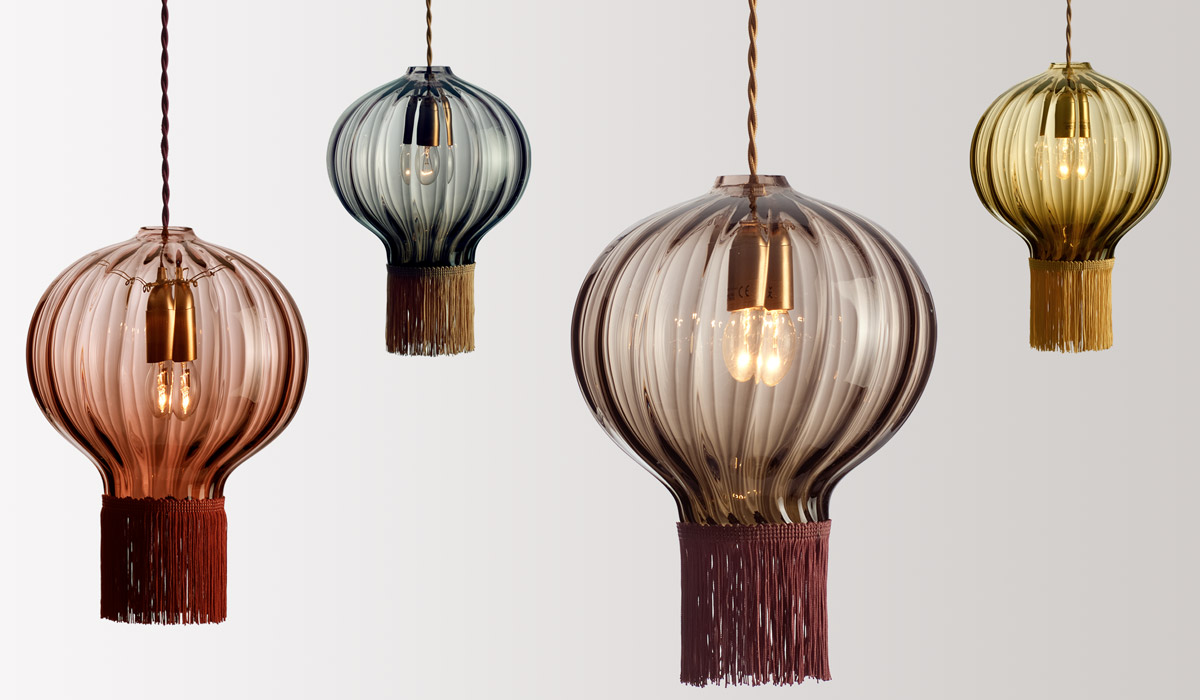 FLODEAU.COM - Handblown Glass Lighting by Rothschild Bickers 10