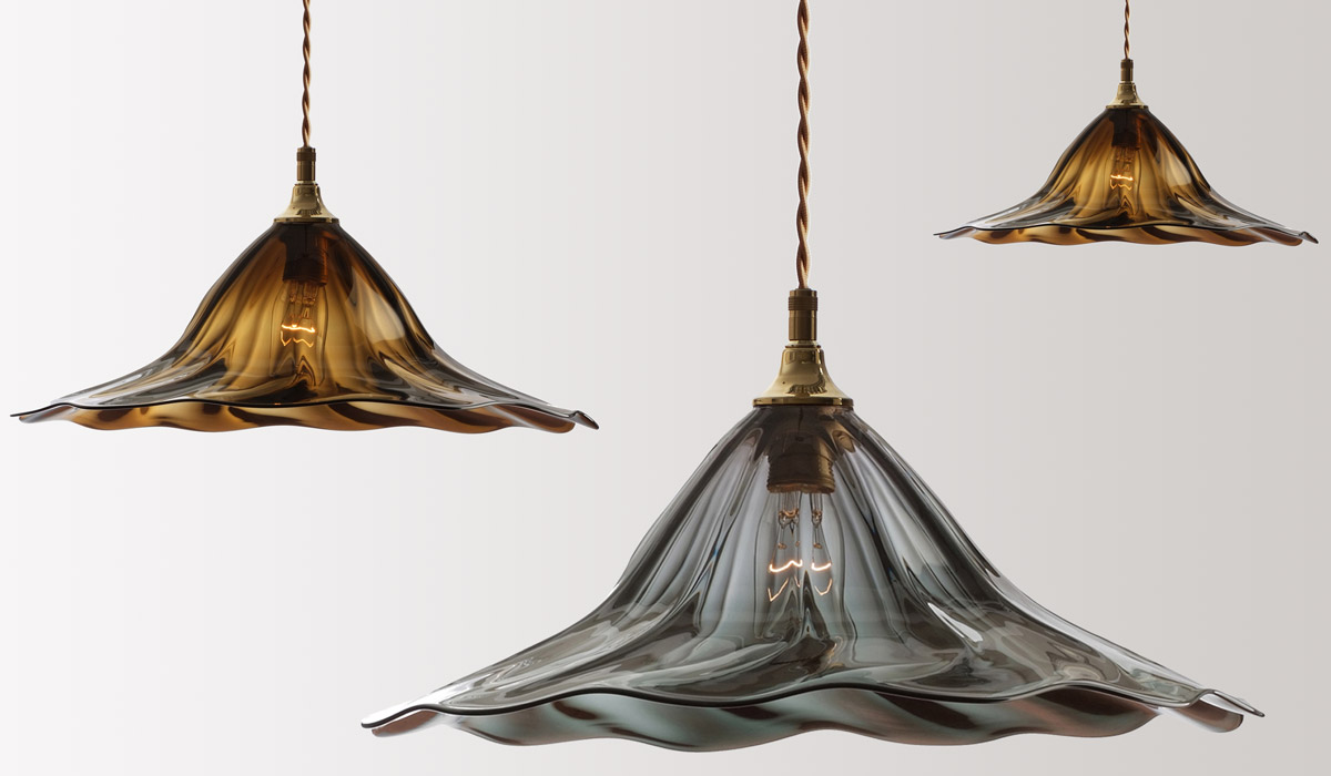 FLODEAU.COM - Handblown Glass Lighting by Rothschild Bickers 12