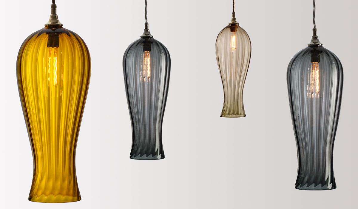 FLODEAU.COM - Handblown Glass Lighting by Rothschild Bickers 15