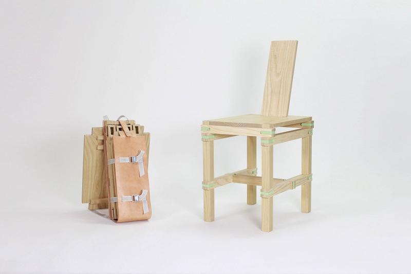FLODEAU.COM - Nomadic Chair by Jorge Penades : 09