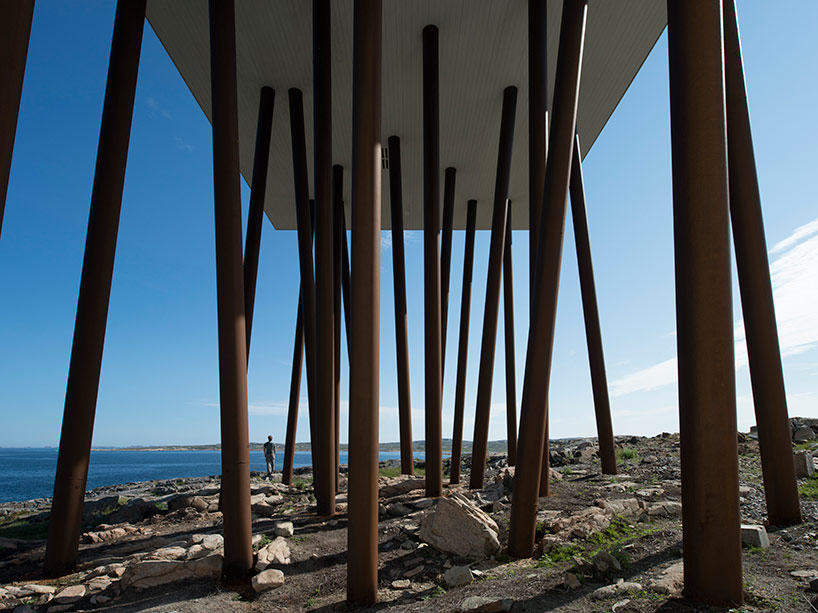 The Fogo Island Hotel by Saunders Architecture