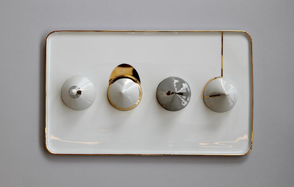 Digital Love  decorative plates by david:nicolas - FLODEAU.COM 05