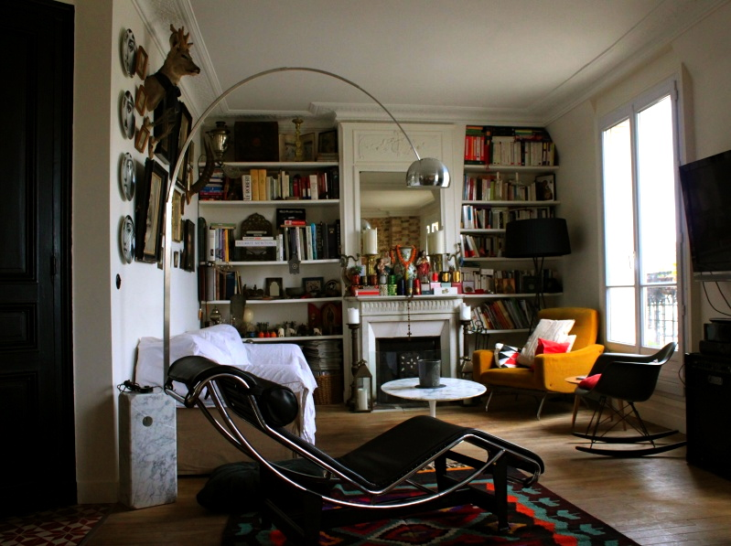 HOME TOUR :: Apartment in Paris :: FLODEAU.COM :: 07