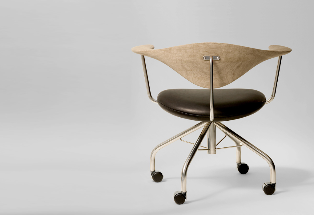 Hans J. Wegner For PP Mobler : Swivel Chair : Flodeau.com : 07