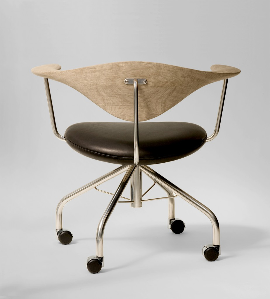 Hans J. Wegner for PP Mobler : Swivel Chair : flodeau.com : 10