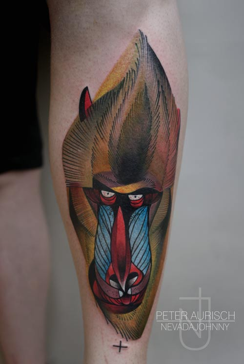 Art and tattoo work by Berlin-based Peter Aurisch 01