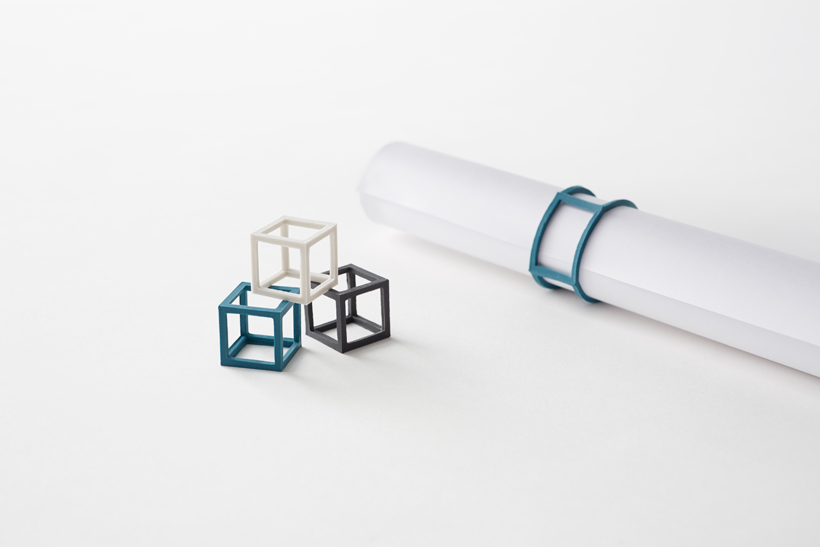 Cubic Rubber-Band by Nendo : flodeau.com 02