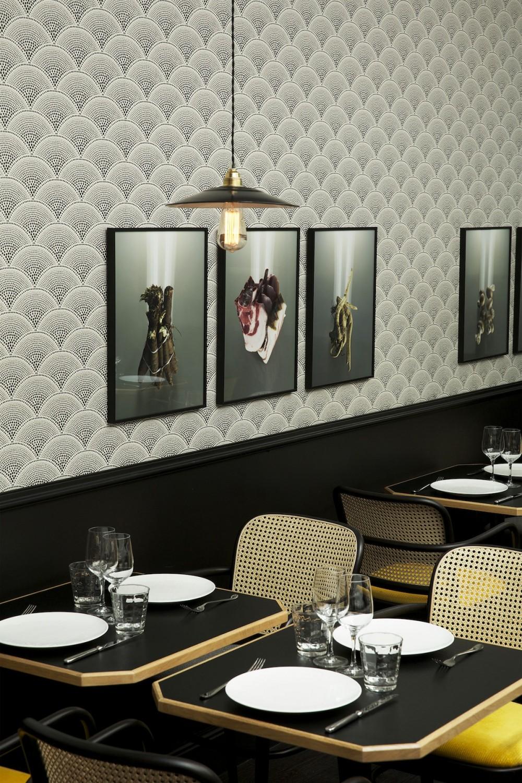 papiers peints restaurants et boutiques on pinterest cole and son paris and the club. Black Bedroom Furniture Sets. Home Design Ideas