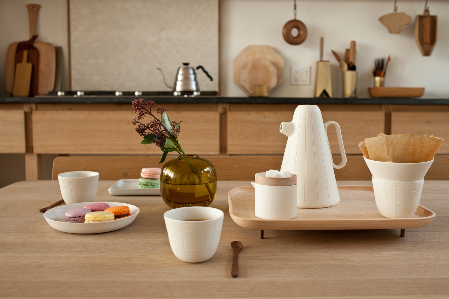 Sucabaruca coffee set by Luca Nichetto for Mjolk :03
