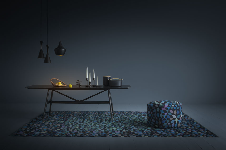 Triangles Rugs by Bertjan Pot for Golran : flodeau.com 02