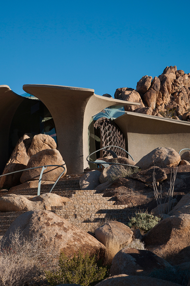 Kendrick Bangs Kellogg : The Joshua Tree Rock House