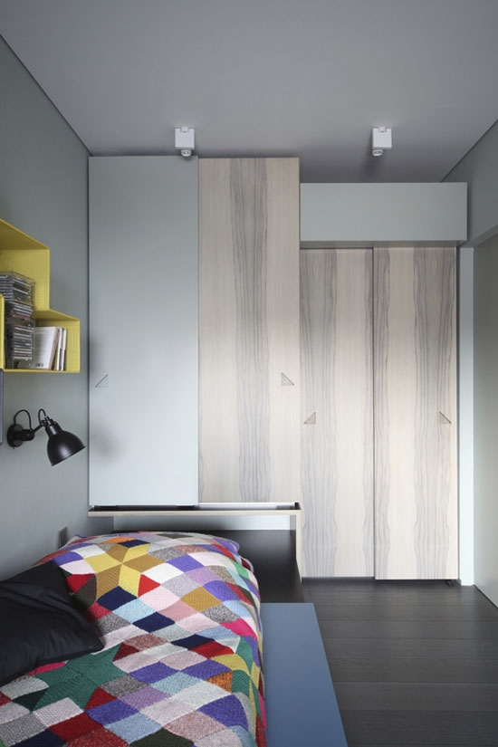 "UdA Architetti : ""An (In)discrete Eye"" Apartment 